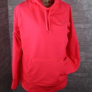 Nike Neon Therma Fit Hoodie Top NWOT